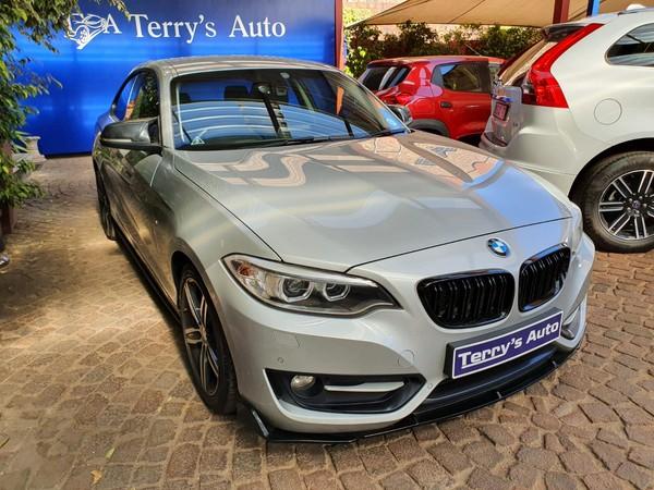 2014 BMW 2 Series 220i Sport Line Auto Gauteng Edenvale_0