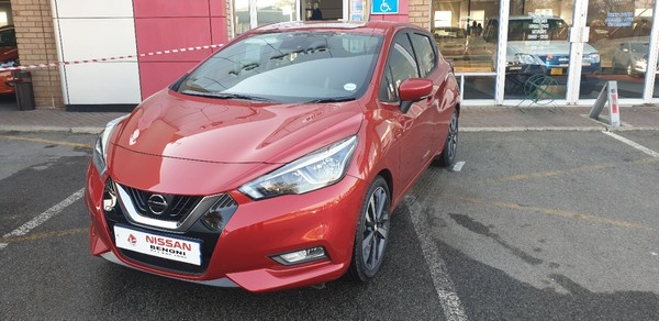 2020 Nissan Micra 1.0T Acenta Plus 84kW Gauteng Benoni_0