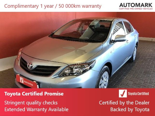2016 Toyota Corolla Quest 1.6 Free State Bloemfontein_0