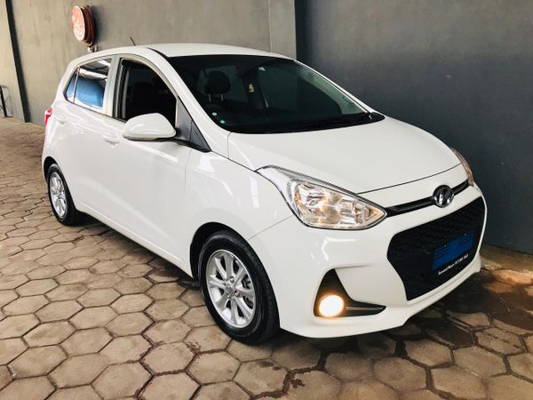 2018 Hyundai Grand i10 1.0 Fluid Gauteng Silverton_0