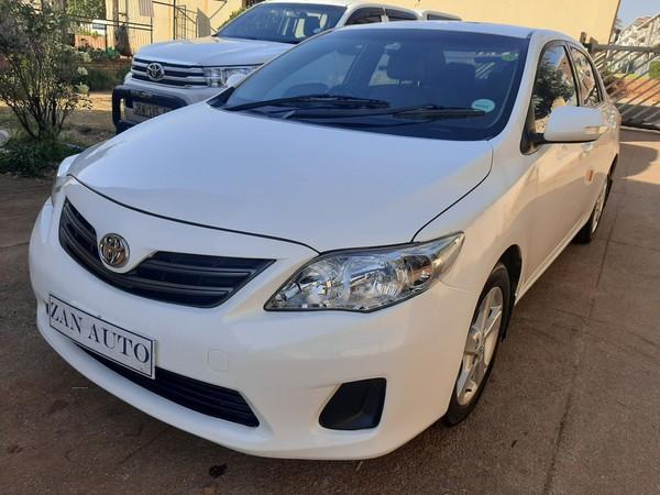 2012 Toyota Corolla 1.3 Impact  Gauteng Bramley_0