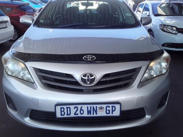 2011 Toyota Corolla 1.6 Professional  Gauteng Johannesburg_0