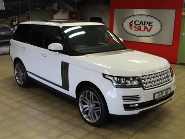 2013 Land Rover Range Rover 4.4 Sd V8 Vogue Se  Western Cape Brackenfell_0