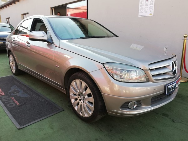 2007 Mercedes-Benz C-Class C350 Avantgarde At  Gauteng Boksburg_0