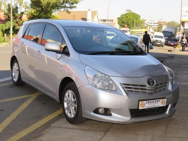 2011 Toyota Verso 1.6 Sx  Kwazulu Natal Pietermaritzburg_0