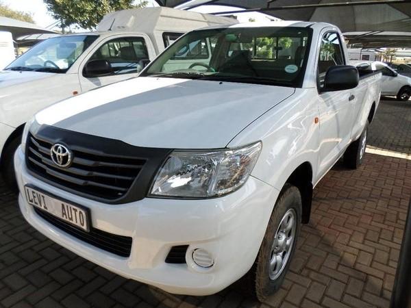 2014 Toyota Hilux 2.5 D-4d Srx Rb Pu Sc  Gauteng Pretoria_0