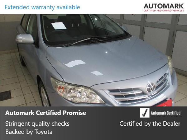 2013 Toyota Corolla 1.6 Advanced At  Gauteng Pretoria_0