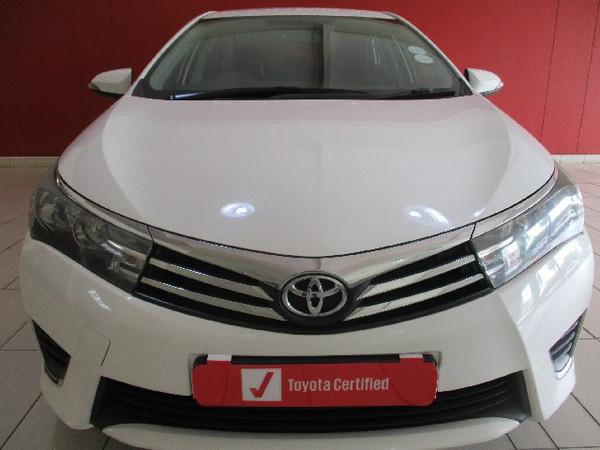 2016 Toyota Corolla 1.6 Prestige CVT Gauteng Pretoria_0