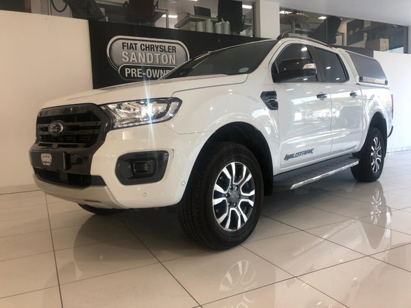 2019 Ford Ranger 2.0TDCi WILDTRAK 4X4 Auto Double Cab Bakkie Gauteng Bryanston_0