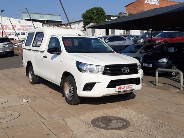 2017 Toyota Hilux 2.4 GD Single Cab Bakkie Kwazulu Natal Durban_0