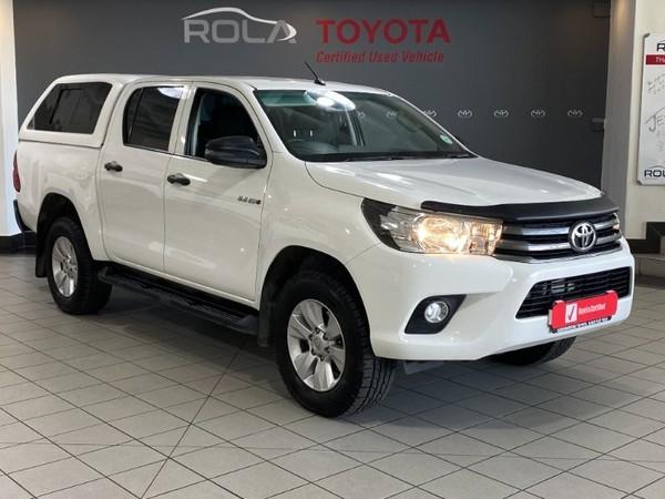 2017 Toyota Hilux 2.4 GD-6 RB SRX Double Cab Bakkie Western Cape Somerset West_0