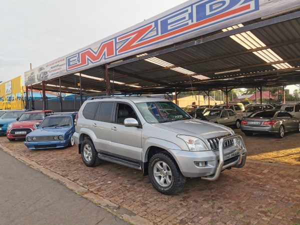 2003 Toyota Prado Vx 4.0 V6 At  Gauteng Benoni_0