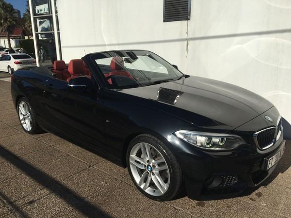 2017 BMW 2 Series 220i Convertible M Sport Auto F23 Gauteng Germiston_0