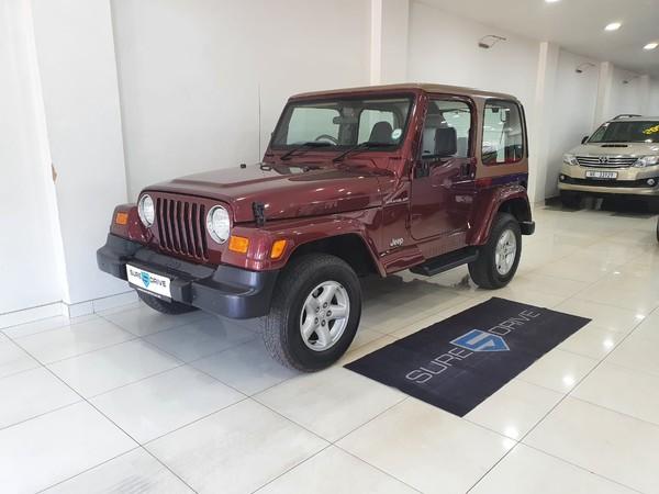 2002 Jeep Wrangler Sahara 4.0 At  Kwazulu Natal Durban_0