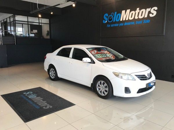 2012 Toyota Corolla 1.6 Professional  Western Cape Goodwood_0