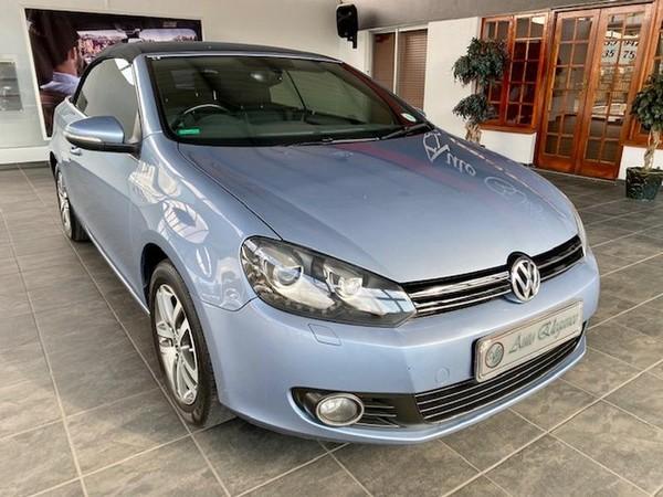 2012 Volkswagen Golf Vi 1.4 Tsi Dsg Cabrio Cline  Gauteng Pretoria_0
