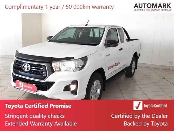2020 Toyota Hilux 2.4 GD-6 RB SRX AT PU ECAB Mpumalanga Ermelo_0