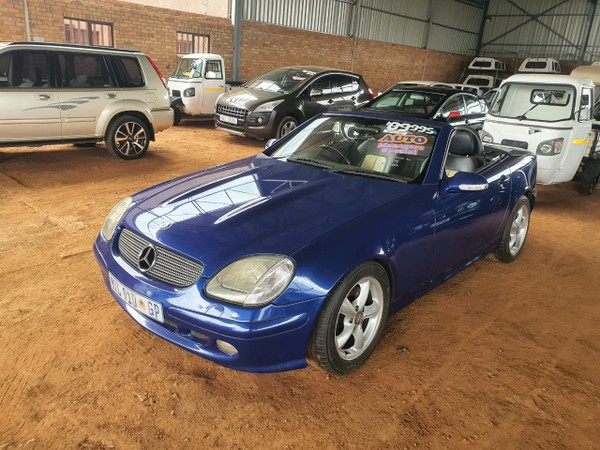2000 Mercedes-Benz SLK-Class Slk 200 At  Mpumalanga Mpumalanga_0