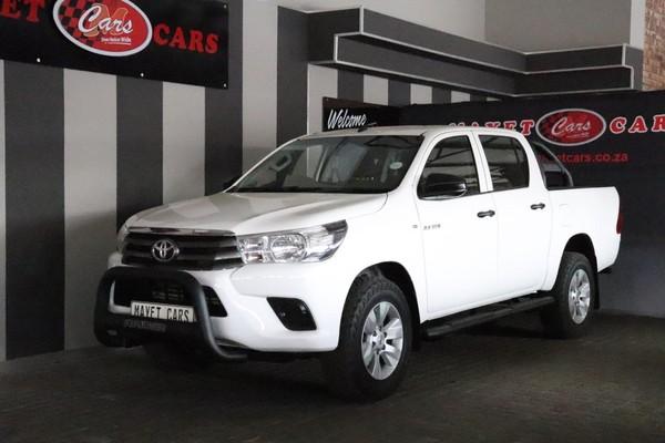 2016 Toyota Hilux 2.4 GD-6 SRX 4x4 Double Cab Bakkie Mpumalanga Delmas_0