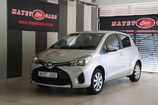 2015 Toyota Yaris 1.3 CVT 5-Door Mpumalanga Delmas_0