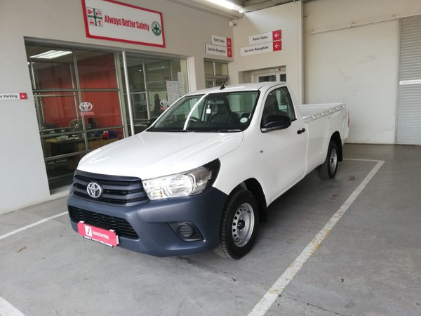 2020 Toyota Hilux 2.4 GD AC Single Cab Bakkie Western Cape Swellendam_0
