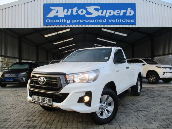2019 Toyota Hilux 2.4 GD-6 SRX Single Cab 4X4 Western Cape Swellendam_0
