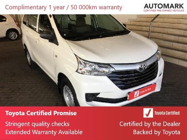 2019 Toyota Avanza 1.3 S FC PV Gauteng Roodepoort_0
