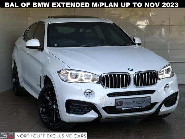 2017 BMW X6 X-DRIVE 40D M-SPORT AUTO  Gauteng Randburg_0