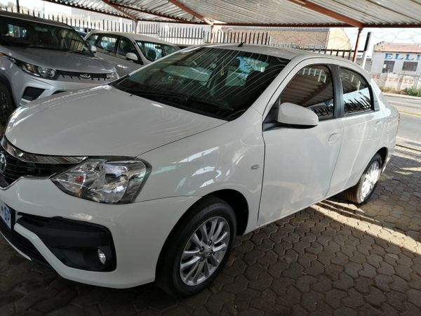 2017 Toyota Etios 1.5 Xi  Gauteng Jeppestown_0