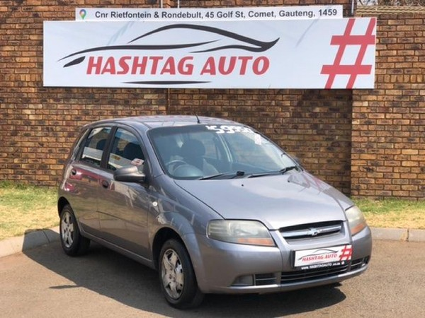 2008 Chevrolet Aveo 1.5 Ls 5dr At  Gauteng Kempton Park_0
