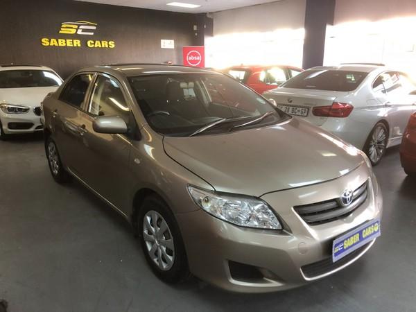 2009 Toyota Corolla 1.6 Professional  Gauteng Benoni_0