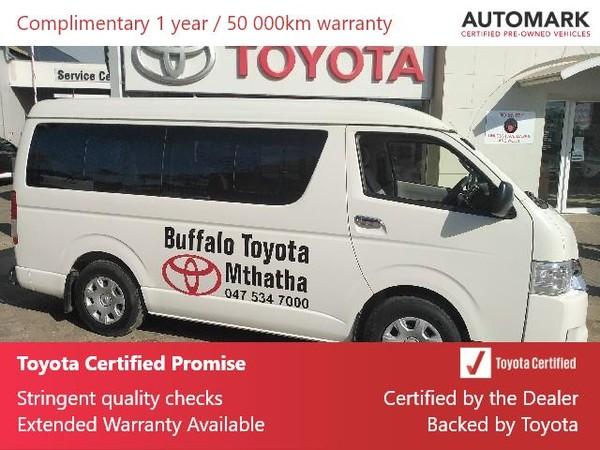 2018 Toyota Quantum 2.5 D-4d 10 Seat  Eastern Cape Mthatha_0
