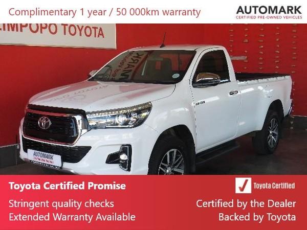2019 Toyota Hilux 2.8 GD-6 Raider 4X4 Auto Single Cab Bakkie Limpopo Polokwane_0