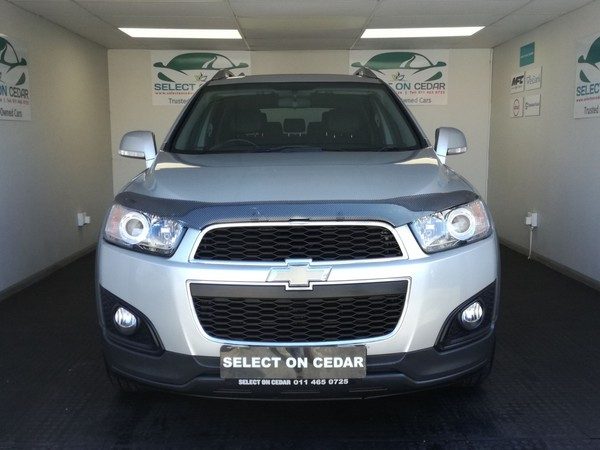 2016 Chevrolet Captiva 2.4 LT Gauteng Four Ways_0