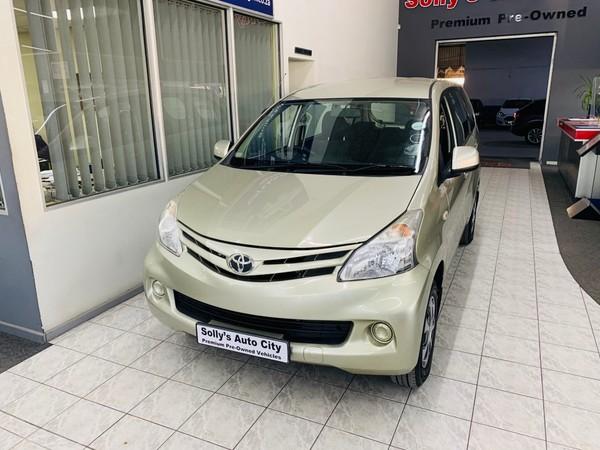 2015 Toyota Avanza 1.5 Sx  Eastern Cape Port Elizabeth_0