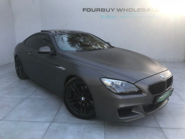2013 BMW 6 Series 640D Coupe M Sport Auto Gauteng Four Ways_0