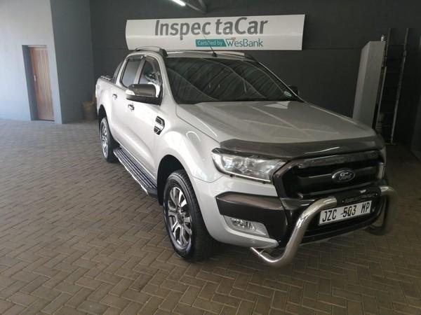 2016 Ford Ranger 3.2TDCi 3.2 WILDTRAK 4X4 Auto Double Cab Bakkie Limpopo Polokwane_0