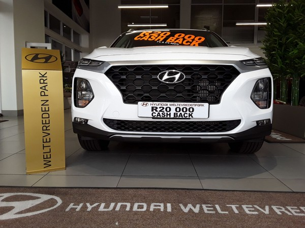 2020 Hyundai Santa Fe R2.2 Premium Auto 7 SEAT Gauteng Roodepoort_0