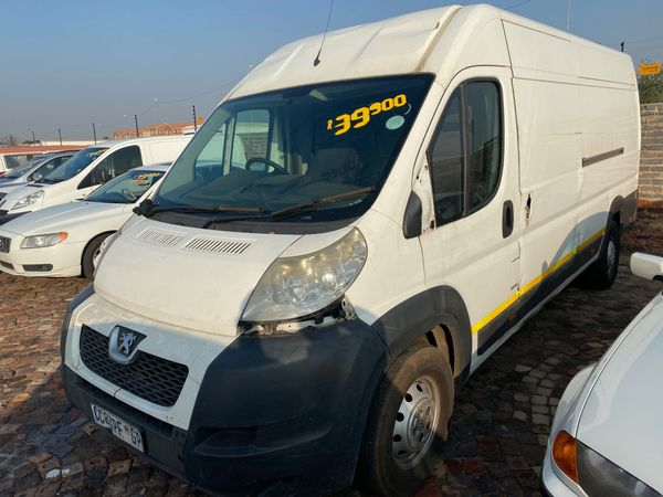 2012 Peugeot Boxer NON-RUNNER Gauteng Boksburg_0