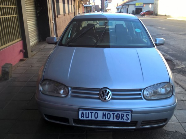 2003 Volkswagen Golf 2.0 Comfortline  Gauteng Johannesburg_0