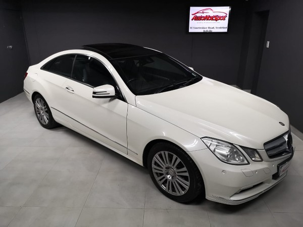 2011 Mercedes-Benz E-Class E 500 Coupe  Western Cape Cape Town_0