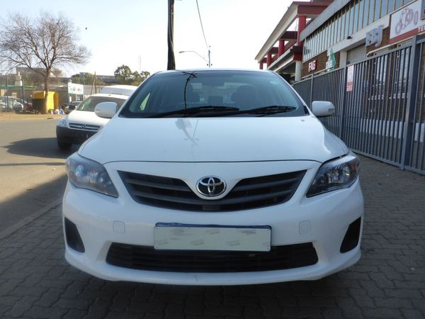 2011 Toyota Corolla 1.3 Professional  Gauteng Johannesburg_0