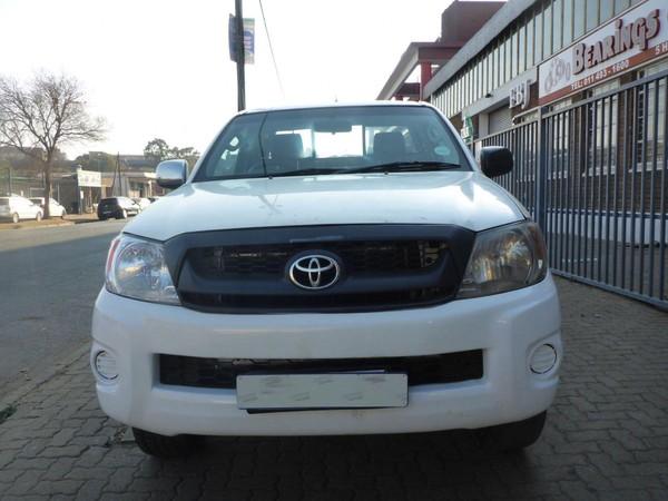 2012 Toyota Hilux 2.5 D-4d Srx 4x4 Pu Sc  Gauteng Johannesburg_0