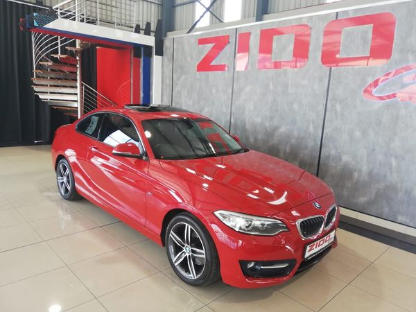 2015 BMW 2 Series 220i Sport Line Auto Gauteng Kempton Park_0