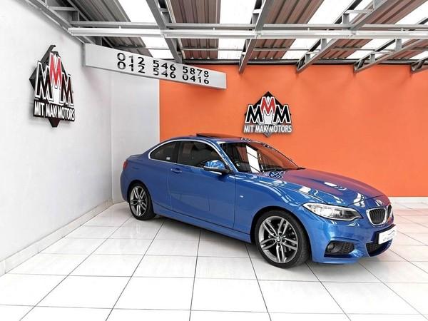2016 BMW 2 Series 220D M Sport Auto Gauteng Pretoria_0