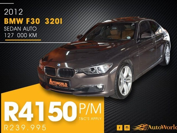 2012 BMW 3 Series 320i  At f30  Western Cape Goodwood_0