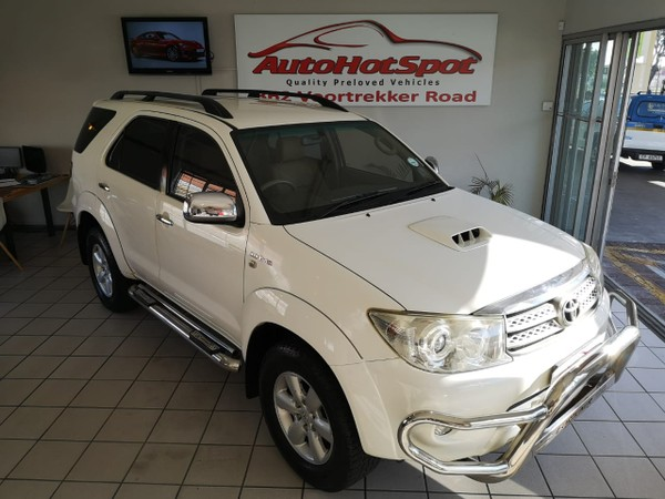 2011 Toyota Fortuner 3.0d-4d Rb At  Western Cape Parow_0