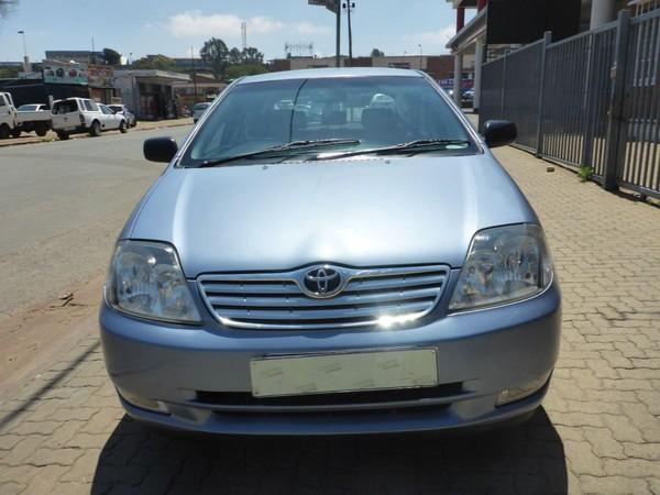2006 Toyota RunX 140i Rs  Gauteng Johannesburg_0