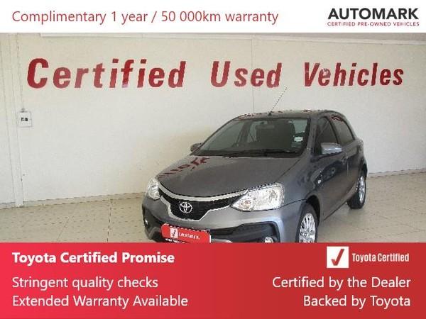 2020 Toyota Etios 1.5 Xs 5dr  Free State Bothaville_0
