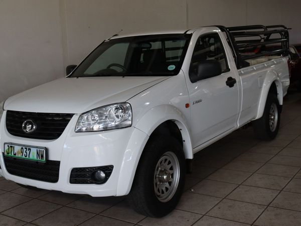 2017 GWM Steed 2.0 VGT Single cab Bakkie North West Province Potchefstroom_0
